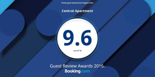 Booking.com įvertinimas 9.6